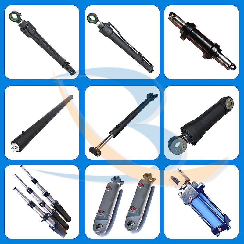 Piston Rod Telescoping Hydraulic Cylinders for Tipper Truck