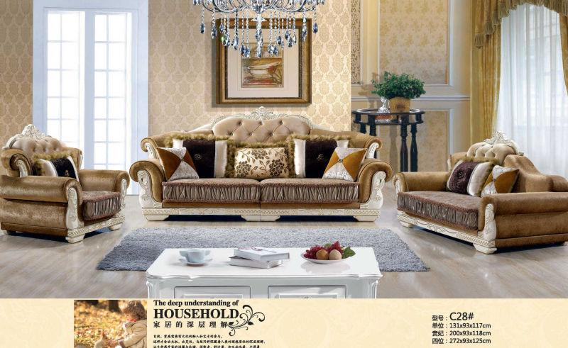 Royal Sofa, New Classic Sofa (C28)