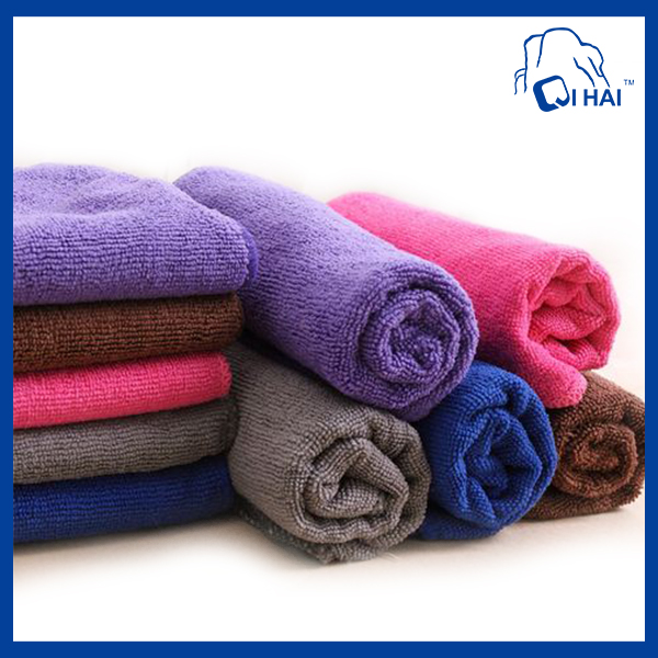 20% polyamide 80% Polyeaster Microfiber Terry Towel (QH784512)
