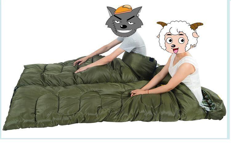 Tactical Military Outdoor Camping Travelling Alpine Warm Inner Eidendown 4-Seasons Sleeping Bag