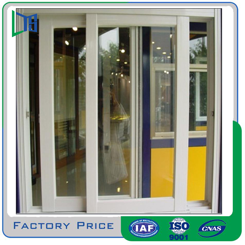 Aluminum Alloy Profile Sliding Durable Windows with Insulated Glass for Residential House Use