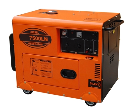 Diesel Silent Generator with Ce and ISO9001