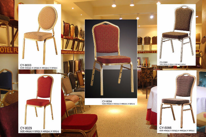 Stacking Commercial Hotel Chair for Banquet and Wedding Hall