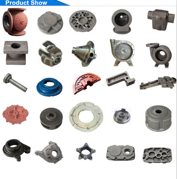 Iron Casting Valve Casting ISO9001