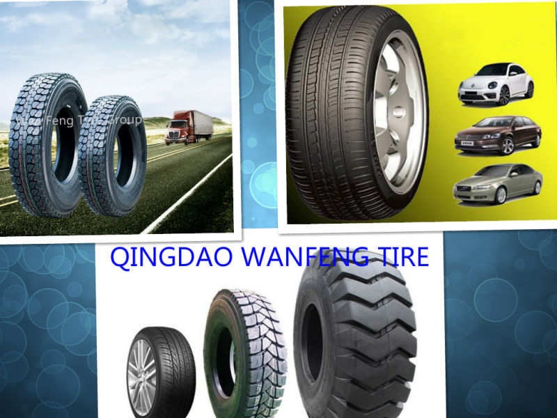 Top Quality Annaite Brand Radial Truck Tyres, Tires (315/80R22.5)
