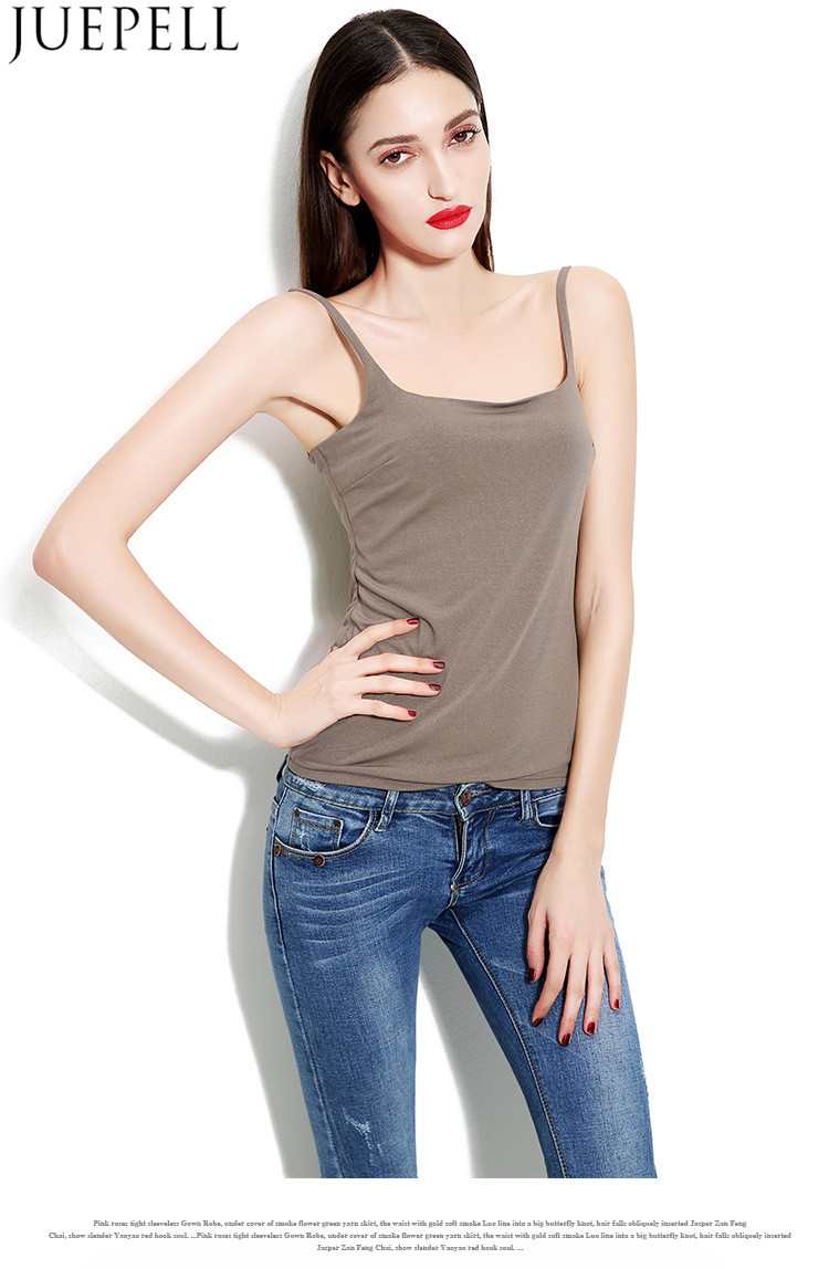 Summer New Women's Suspenders Sexy Vest Bottoming Slim Short Paragraph Breathable Hemp Shirt Wild Top Vest