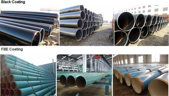 API LSAW Welded Steel Pipe for Oil Project