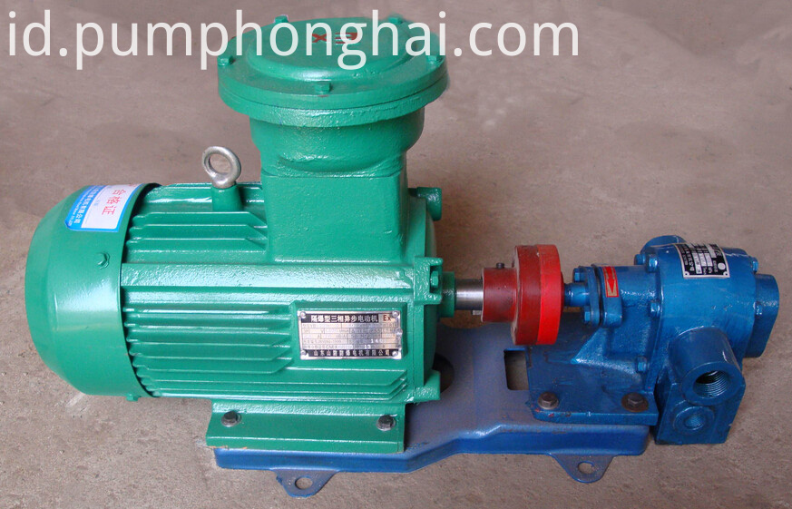 LQB series cast iron material bitumen gear pump