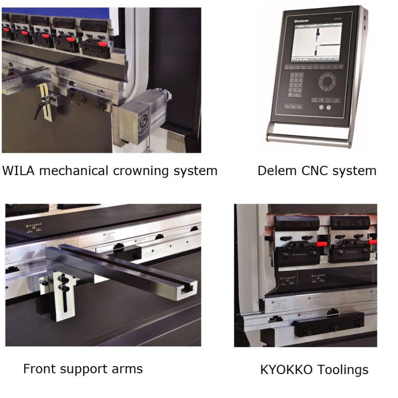 CNC Hydraulic Press Brake (PSH-110-2500HBM)