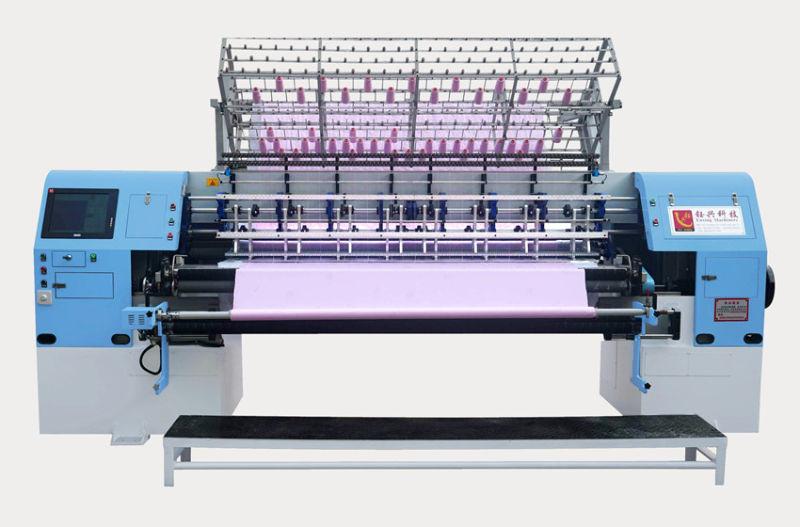 Multi-Needle Lock Stitch Quilting Machine Computerized