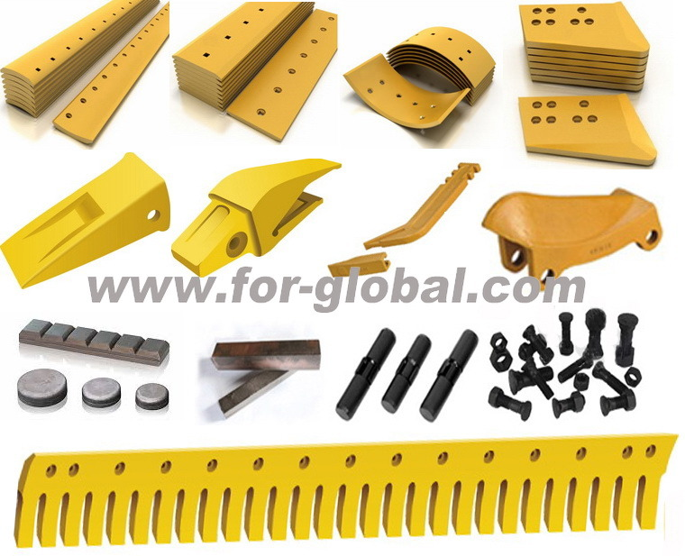 132-1073 5D9732S Motor Grader Curved Serrated Cutting Edge