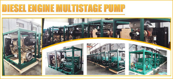 High Pressure Boiler Feed Water Pump with Electric Motor