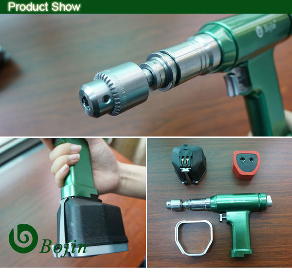 Autoclavable Surgical Power Tool with Battery