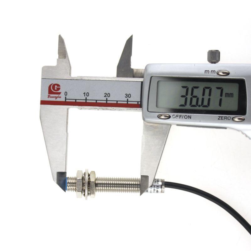 Yumo Lm8-3001PA Series M8 Mini Cylinder Inductance Proximity Switch Sensor