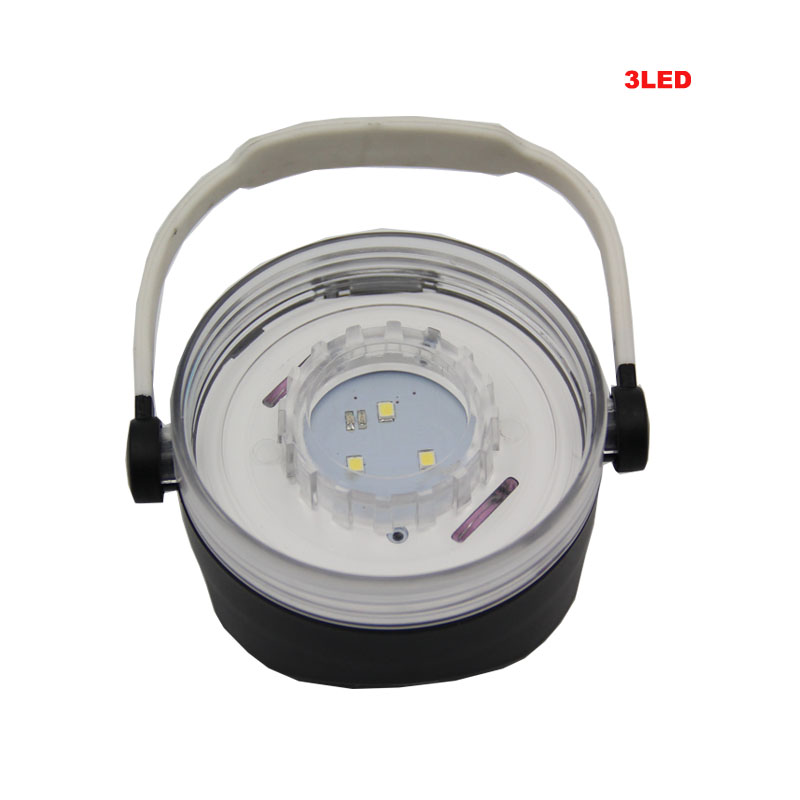 3193 Waterproof Solar Lamp Colorful Outdoor Camping Lantern