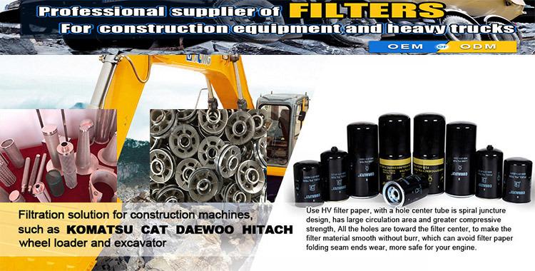 Fleetguard Oil Filter/ Mtu2000 12V M91 Engine Fuel Filter /Detroit Diesel Engine Parts