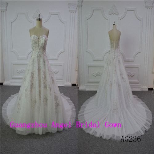 Sexy & Fashion A-Line Wedding Dress