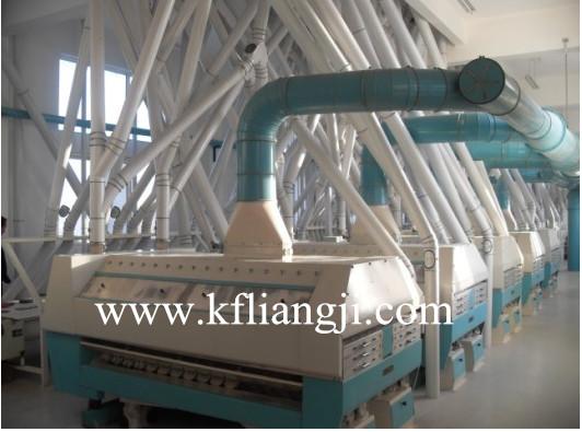 Wheat/Maize Flour Producing Line