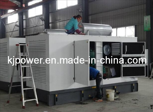 250kVA-1500kVA Silent Power Generator with Cummins Diesel Engine