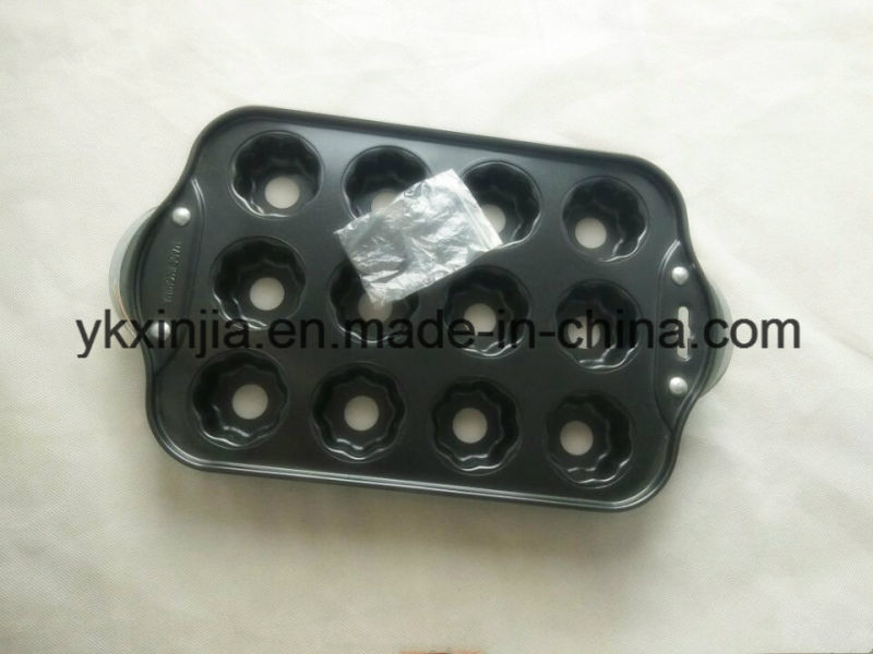12 Cups Perfect Nonstick Bakeware Muffin Cup Cakes Baking Pan