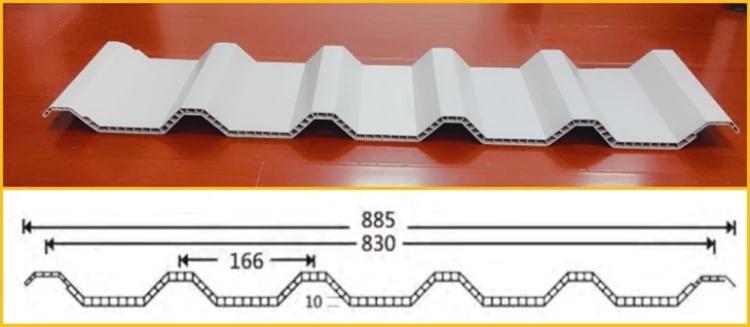 pvc twinwall sheet for warehouse