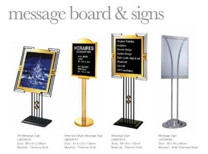 Multifunctional Outdoor Metal Sign Board