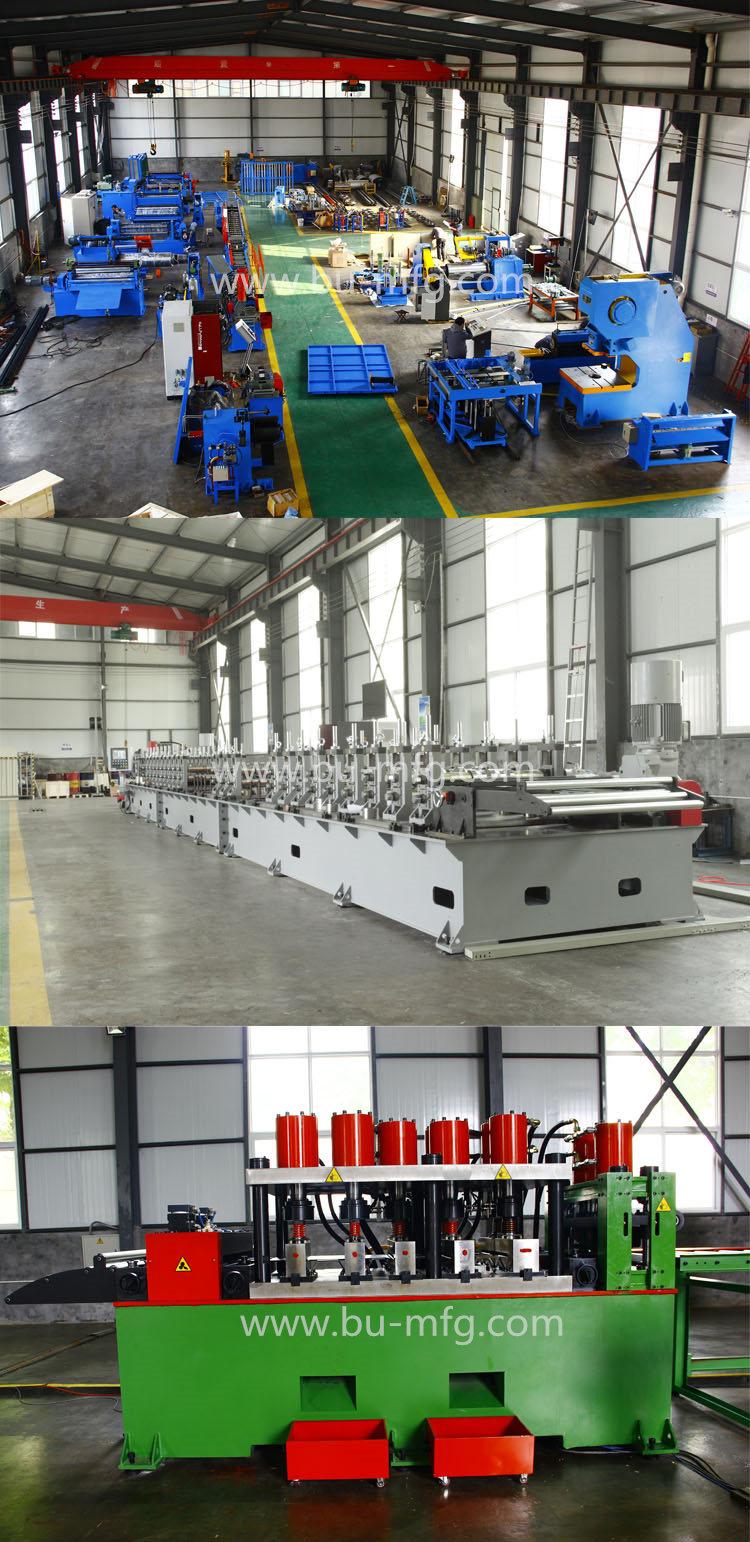 Full Automatic Aluminium Roofing Tiles Making Machine