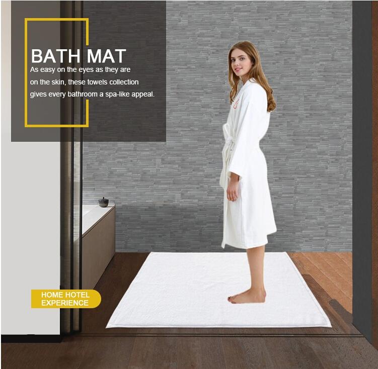 Wholesale Waterproof Hotel Bath Mat Set