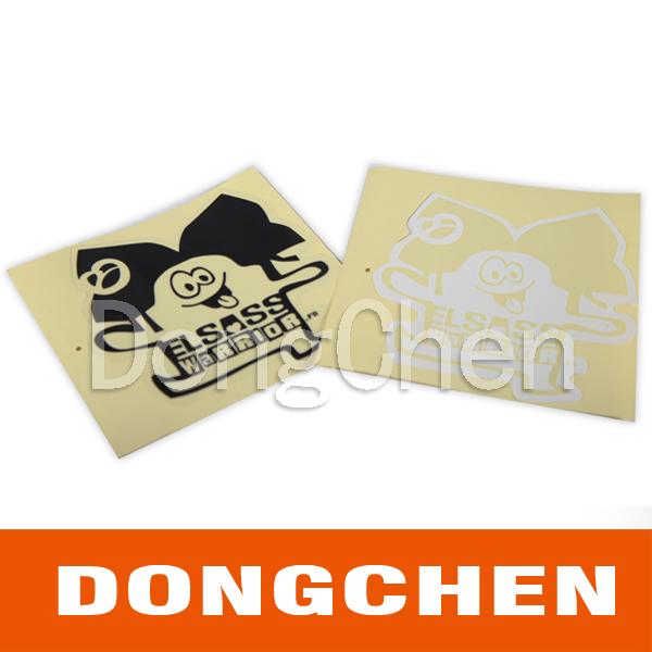 High Quality Cheap Adhesive Reflective Printed Custom Car Sticker