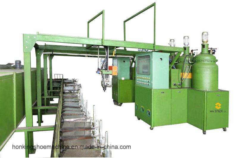 PU Sole Foaming Assembly Machine