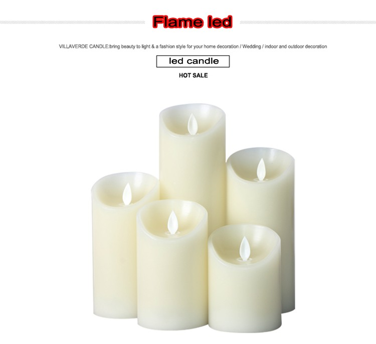 Remote Control Decorative Led Candle