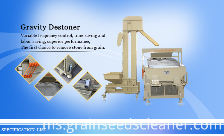 gravity seed destoner