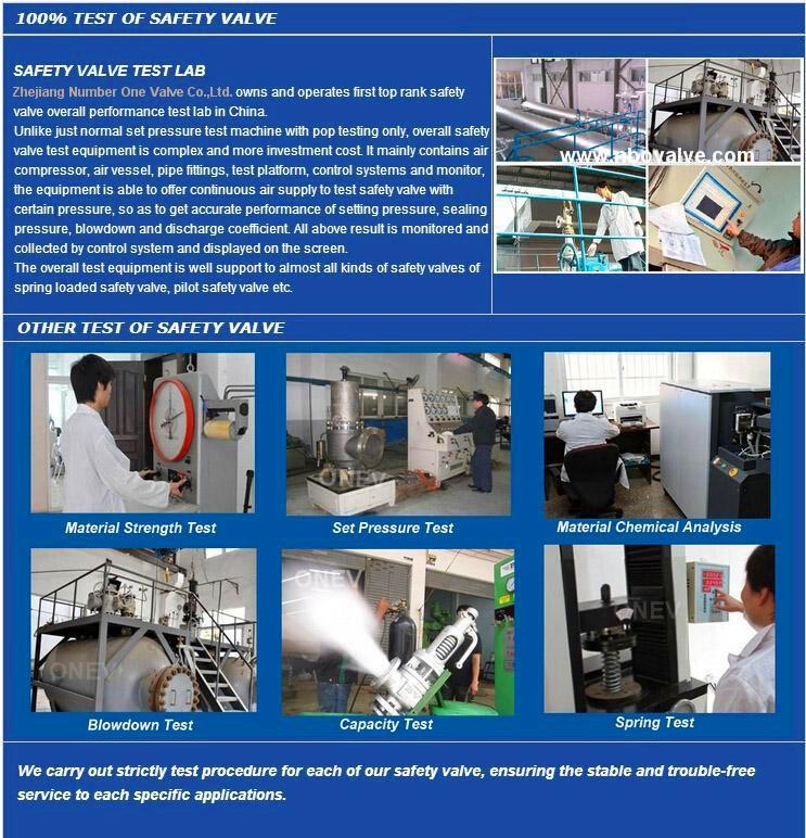 ANSI 300# Big Size Pressure Safety Valve (A48H-12