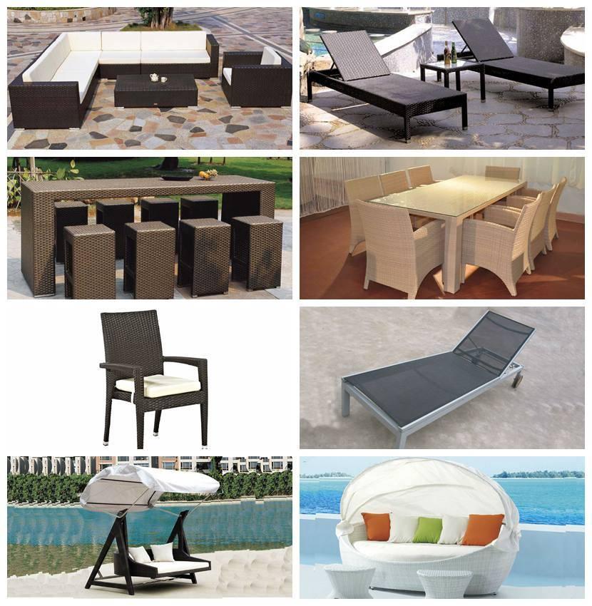 Hotel Outdoor Furniture Rattan Sofa Set Ln-002