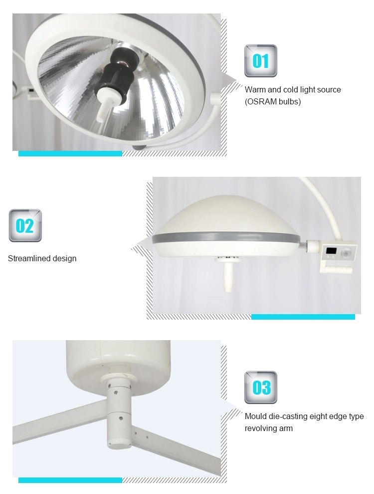 High Quality Double Heads Surgical Shadowless Operation Lamp