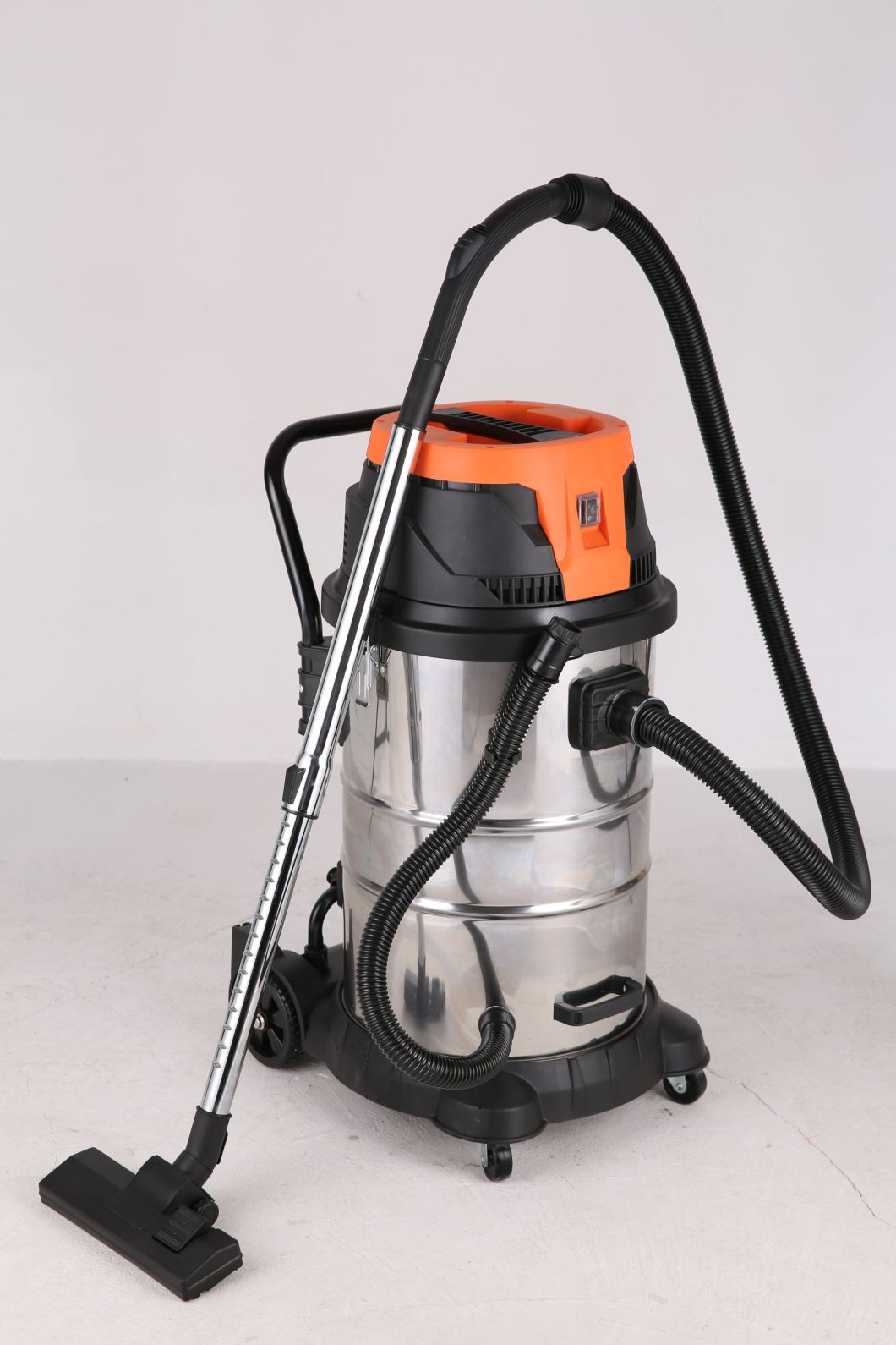 Industrial Wet&Dry Vacuum Cleaner Mwd181 50L Stainless Steel High Power