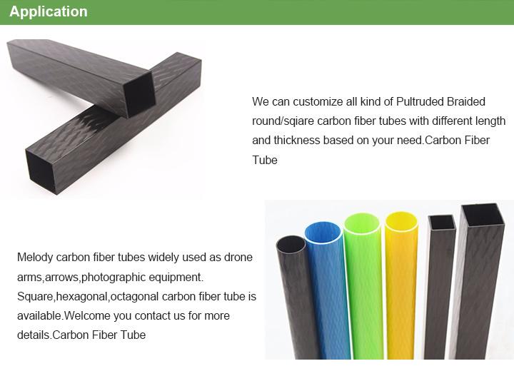 3K Telescope Extension Carbon Fiber/Fiberglass Tube for RC Plane/Handle/Fishing/Car Parts