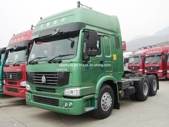 Sinotruk HOWO T7h 480HP 4X2 Tractor Truck with Man Technology