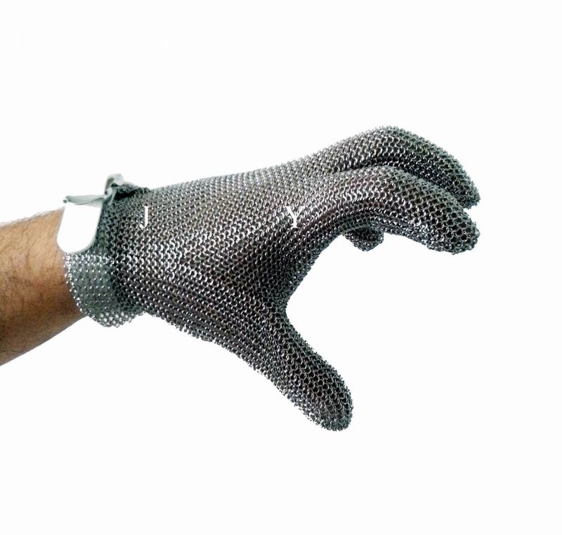Stainless Steel Metal Mesh Butcher Gloves