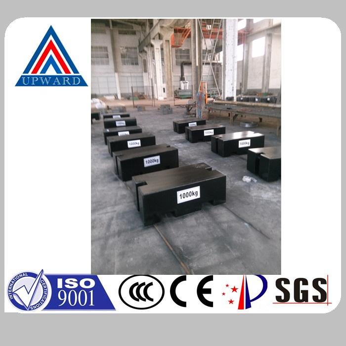 Upward Brand Cast Iron OIML Standard Industrial Test Weights Supplier