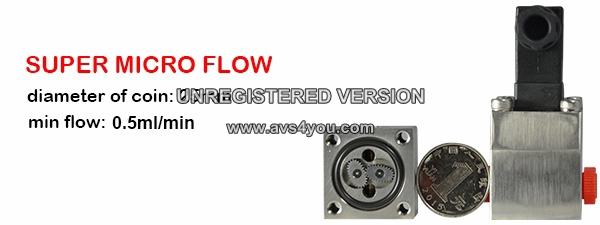 Micro Flow Meter