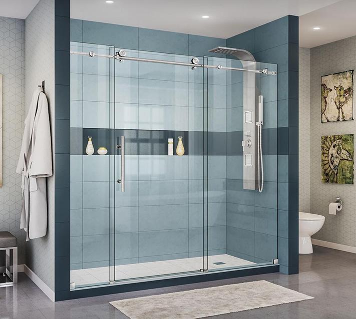 10mm tempered shower door