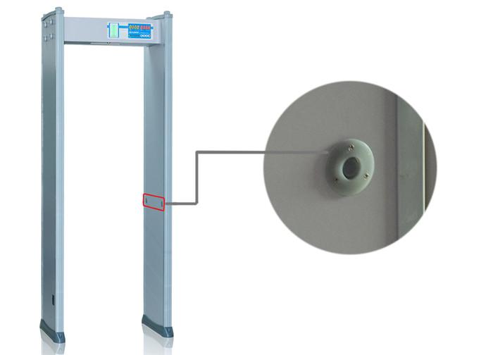 High-Decibel Alarm Anti Inference 200 Level Door Frame Metal Detector with Switch Power