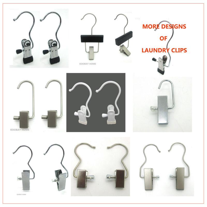 Wholesale Flat Metal Mini / Regular Luandry Clip Hanger for Boots