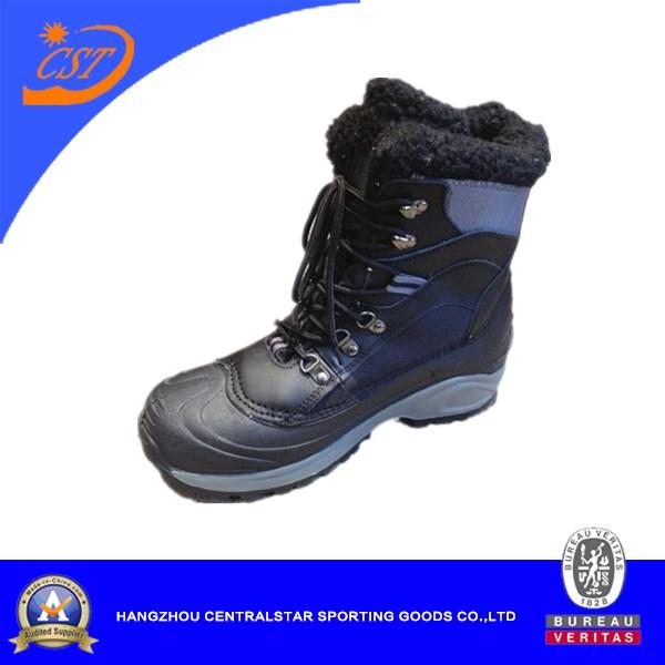 Men's Snow Boots , PVC Upper