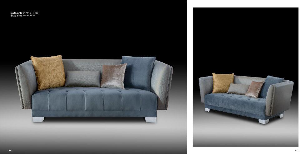 Home Sofa/Fabric Sofa/Affordable Luxury Furniture/Classical Sofa
