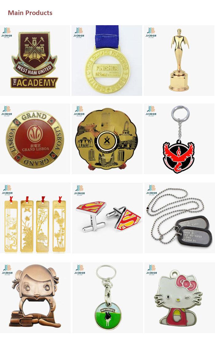 Cartoon House Shaped Cute Chirldren Keychain Pendant Metal Charm Custom Manufacturer