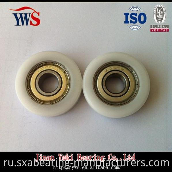6000 POM Plastic Coated Ball Bearing