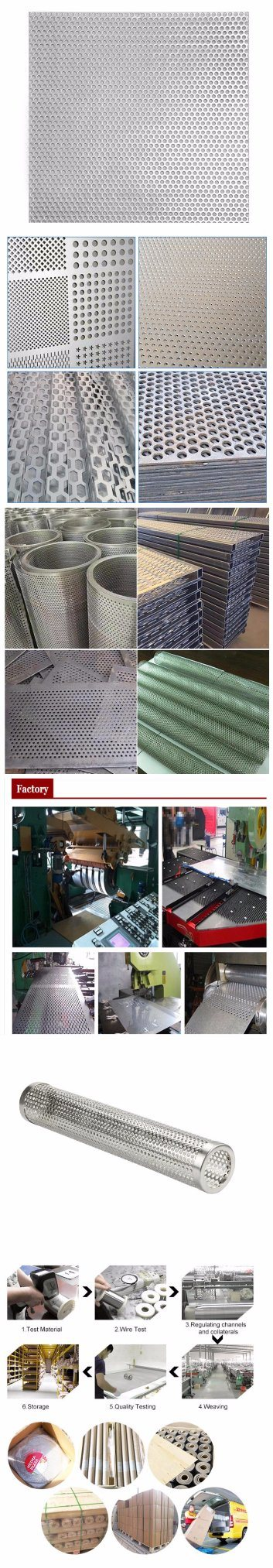 201 Diamond Hole Stainless Steel Perforated Plate