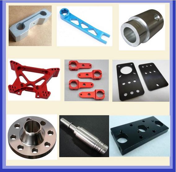 Good Quality CNC Machine Shop CNC Milling Anodized Aluminum 7075 Parts